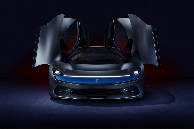 Pininfarina Battista - Grigio Luserna specification 2019