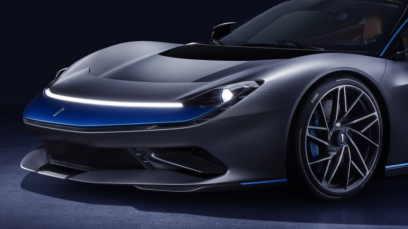 Pininfarina Battista hypercar 2019 - Grigio Luserna specification-