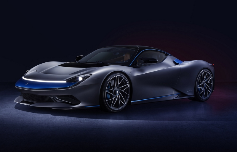 Pininfarina Battista hypercar 2019 - Grigio Luserna specification