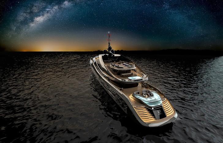 Pininfarina Rossinavi Aurea 2017 project