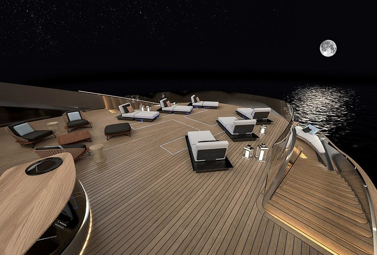 Pininfarina reveals its first yacht with Rossinavi-