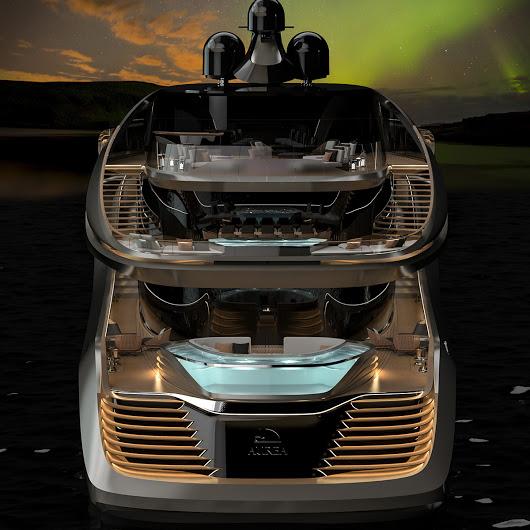 Pininfarina reveals its first yacht with Rossinavi-Aurea