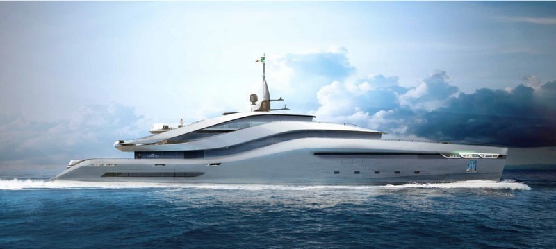 Pininfarina reveals its first yacht with Rossinavi