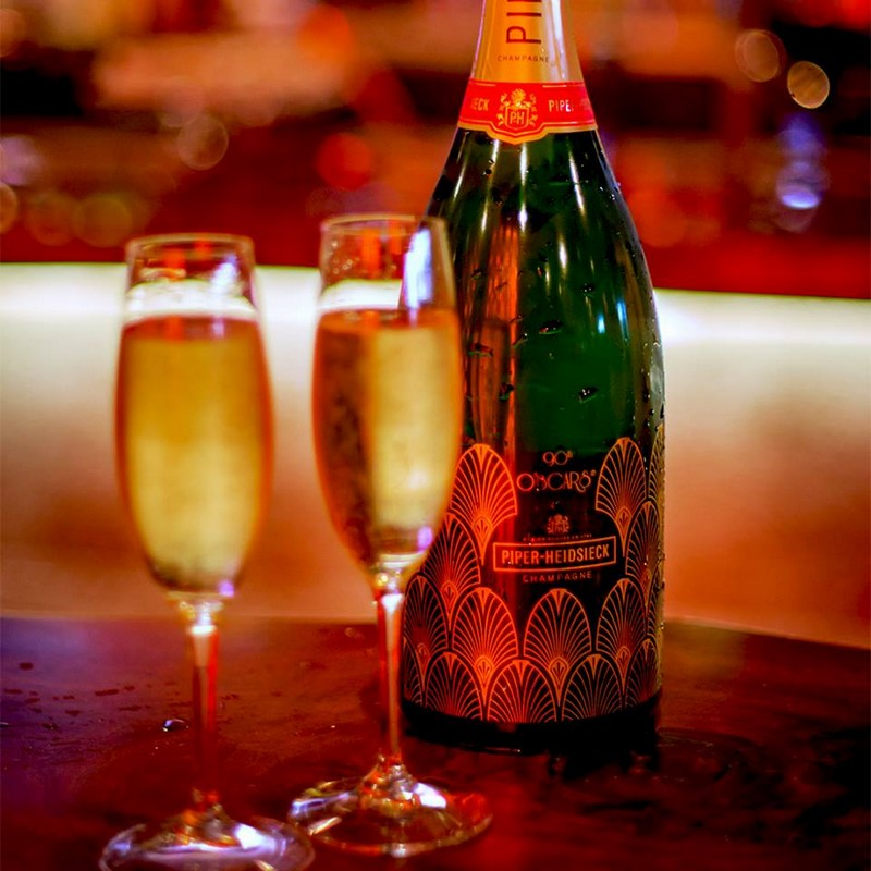 Piper-Heidsieck Champagne Returns For 90th Oscars-