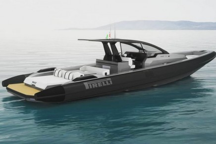 Tecnorib unveiled the new Pirelli 1250,  a boat to satisfy the most demanding customers