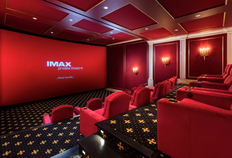 Playa Vista Isle in Hillsboro Beach, Florida - imax private theater