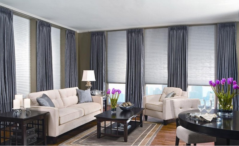 Pleated Shades offer an excellent form of window coverings, providing light, privacy and sun control