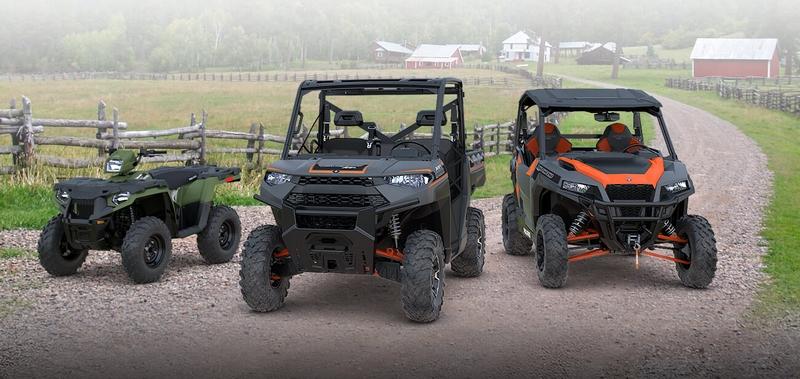 Polaris OffRoad Vehicles lineup