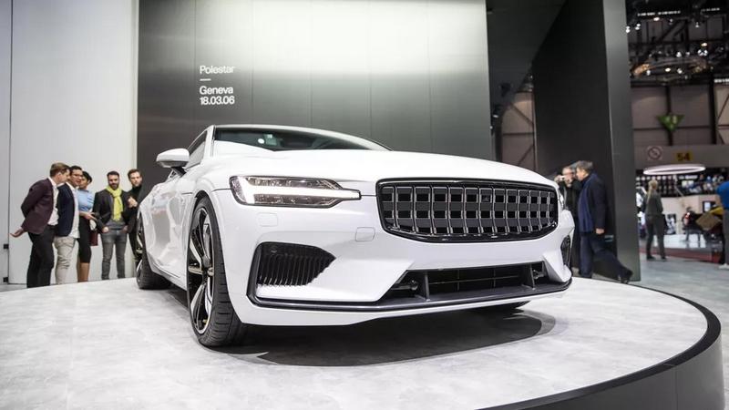Polestar 1 car at Geneva Motor Show