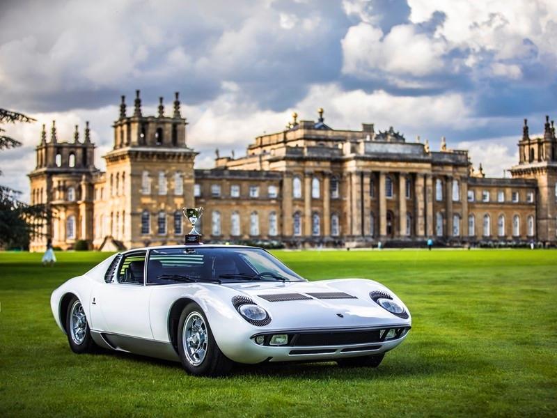 Polo Storico-Restored historic Miura best in class at UK's prestigious Salon Prive 2017-
