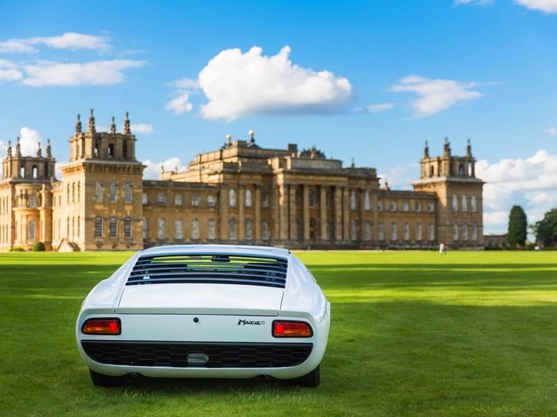 Polo Storico-Restored historic Miura best in class at UK's prestigious Salon Prive 2017