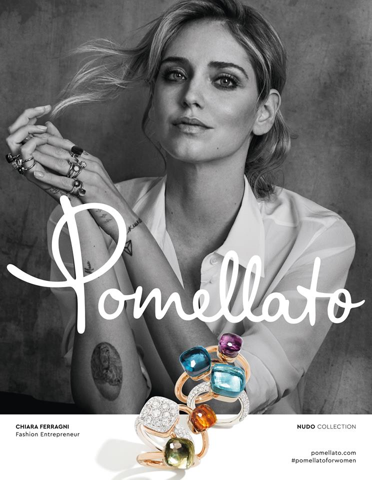 Pomellato Nudo collection 2018- Chiara Ferragni