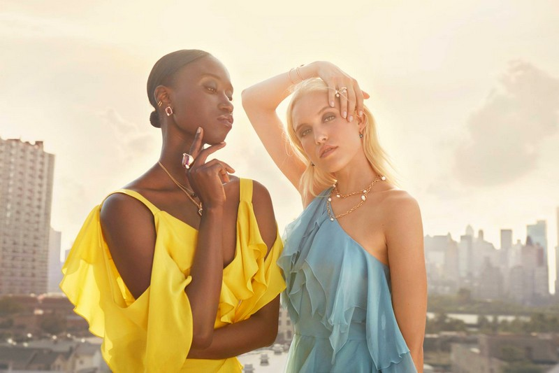 Pomellato was immediately drawn to Amy Sall and Carlotta Kohl for their personal style, confidence, and passions