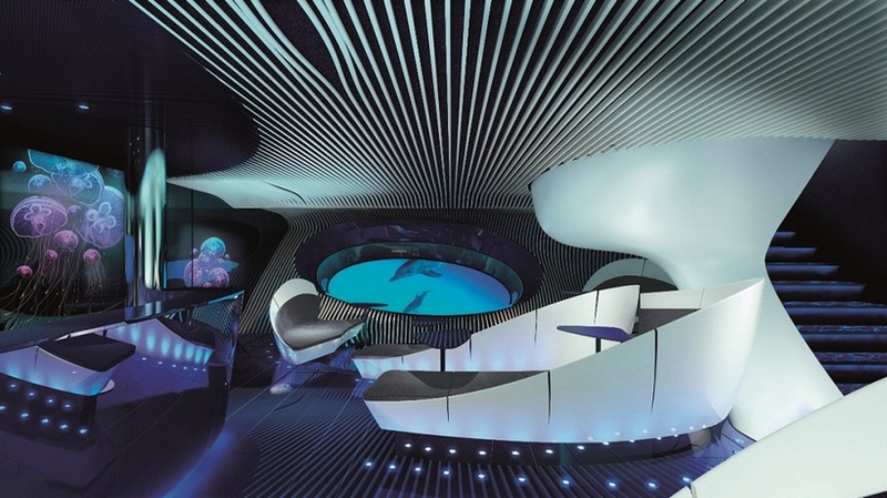 Ponant has released this fantastic new video explaining their new Blue Eye lounge concept