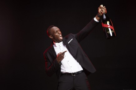 Usain Bolt passes on his personal tips for coming out a winner: Don't win to celebrate, celebrate to win!
