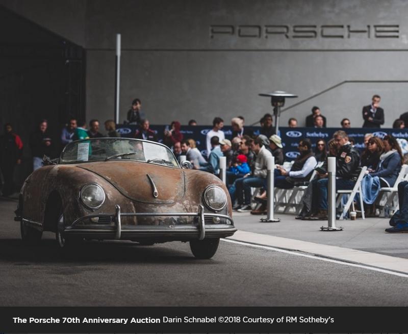 Porsche 70th Anniversary Auction at the Porsche Experience Center Atlanta-01