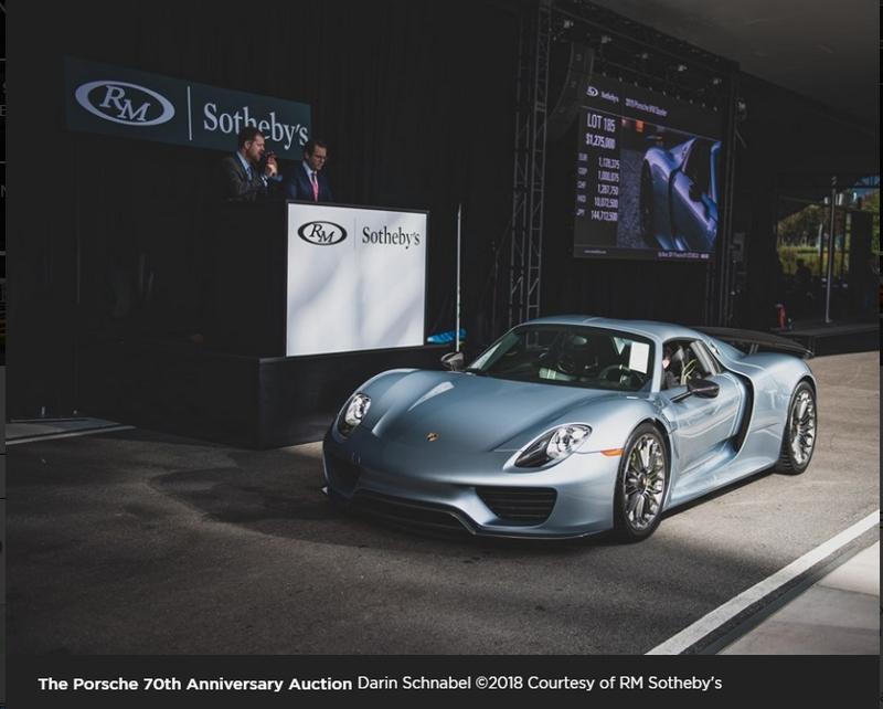 Porsche 70th Anniversary Auction at the Porsche Experience Center Atlanta-02