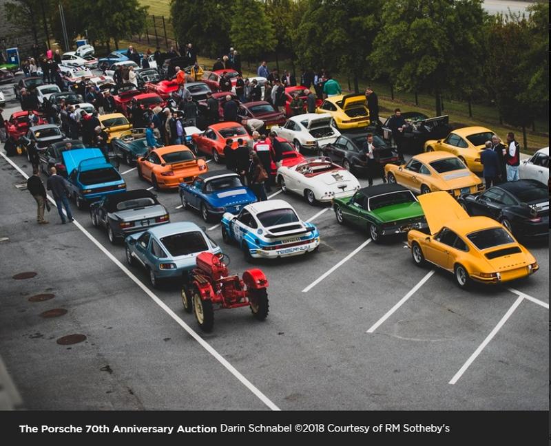 Porsche 70th Anniversary Auction at the Porsche Experience Center Atlanta
