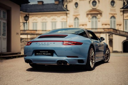 Taking a closer look at 911 Targa 4S Exclusive Design Edition