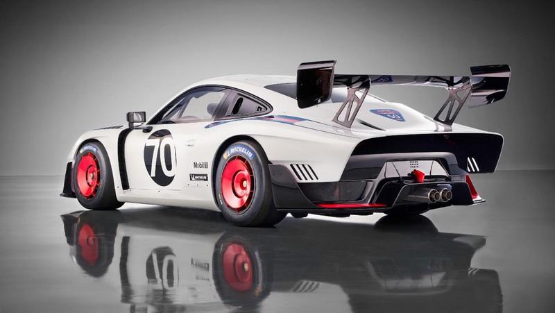 Porsche 935, 2018, Porsche AG-rear