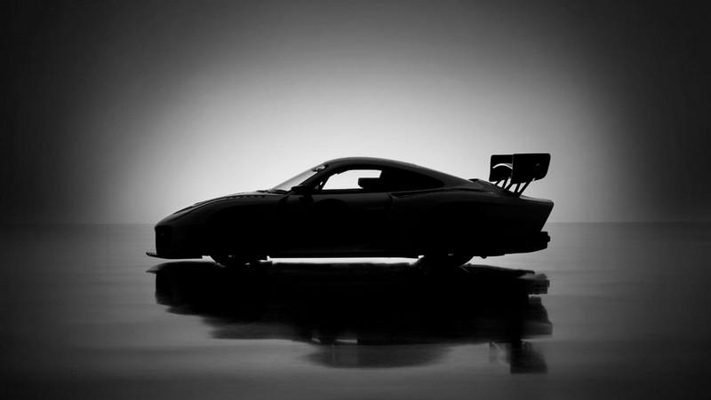 Porsche 935, 2018, Porsche AG-silhouette