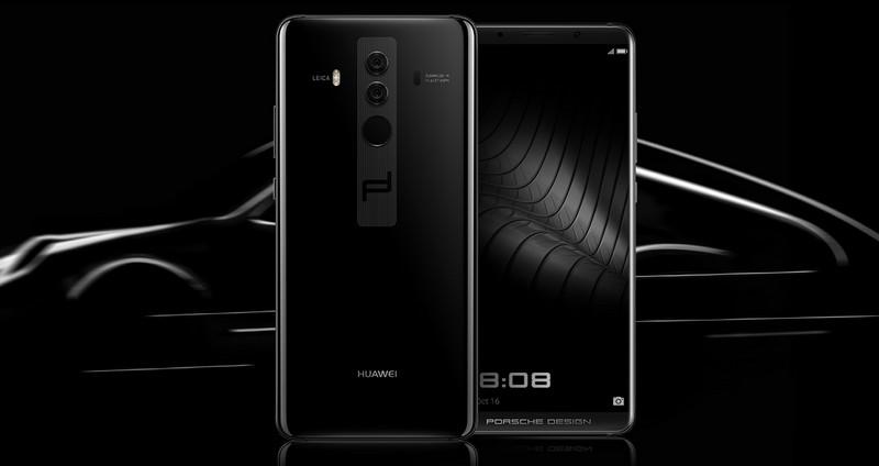 Porsche Design HUAWEI Mate 10 smartphone-