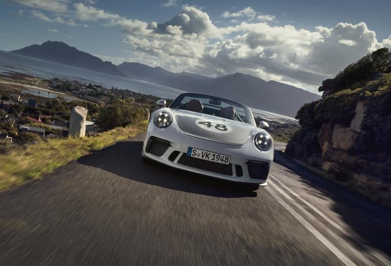 Porsche Exclusive Manufaktur presents 2019 Porsche 911 Speedster with Heritage Design Package-