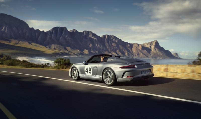 Porsche Exclusive Manufaktur presents 2019 Porsche 911 Speedster with Heritage Design Package