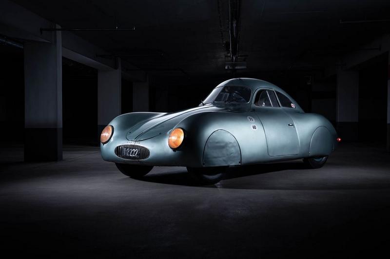 Porsche Type 64, designed by Ferdinand Porsche