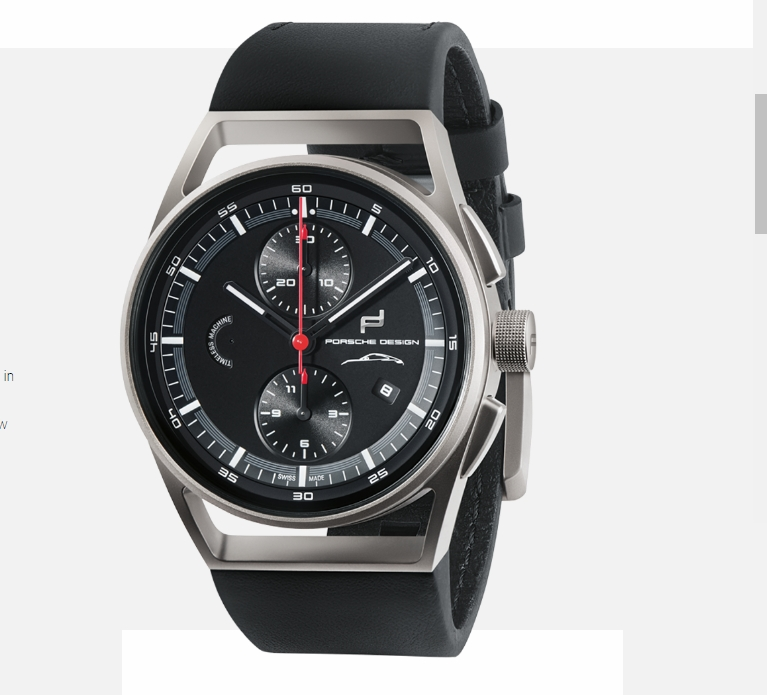 PorscheDesign 911 Chronograph Timeless Machine Limited Edition-