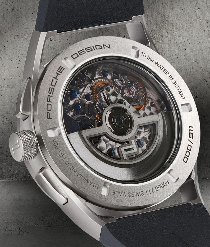 PorscheDesign 911 Chronograph Timeless Machine Limited Edition-Porsche Design-2018