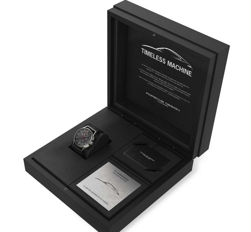 PorscheDesign 911 Chronograph Timeless Machine Limited Edition-Porsche Design-2018=box
