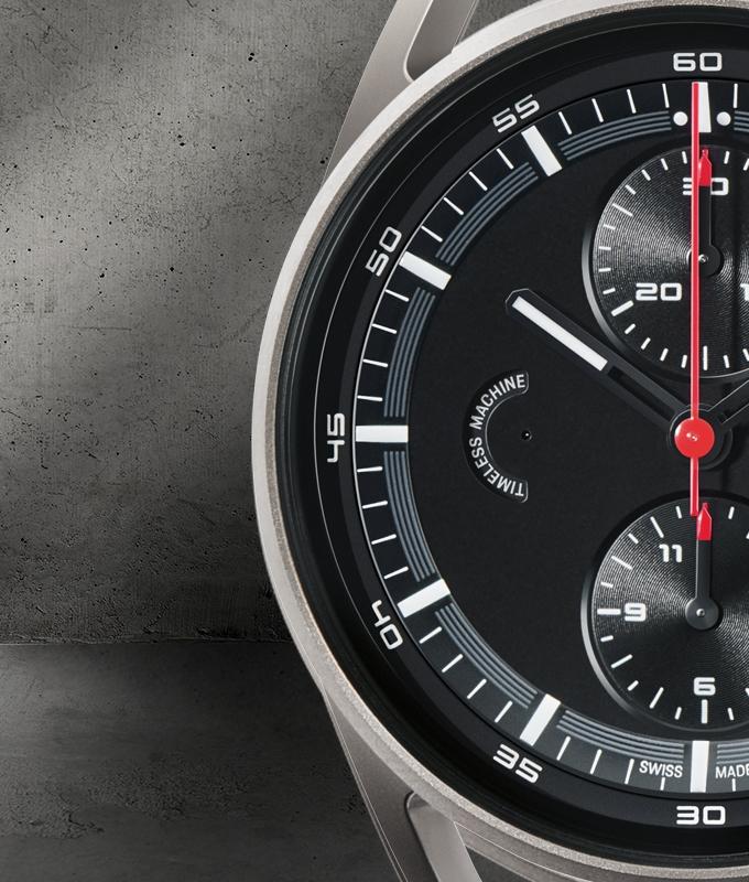 PorscheDesign 911 Chronograph Timeless Machine Limited Edition-Porsche Design