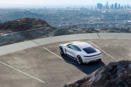 Mission E: First all-electrically powered road-hugging Porsche