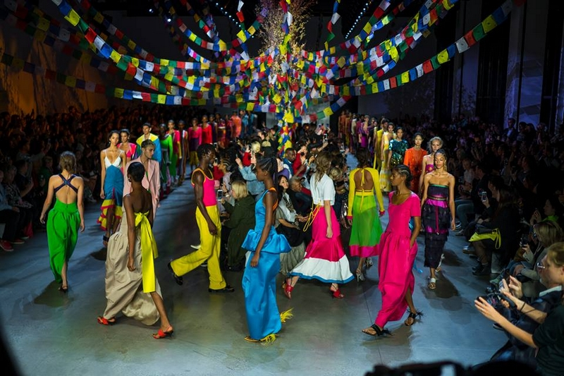 Prabal Gurung Fashion Show September 2018