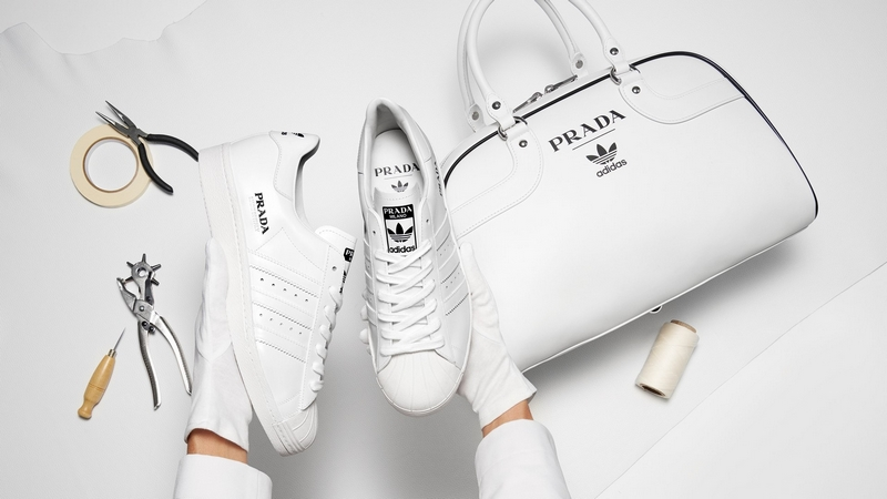 Prada for adidas Limited Edition - a salute to the 50 years of the Superstar