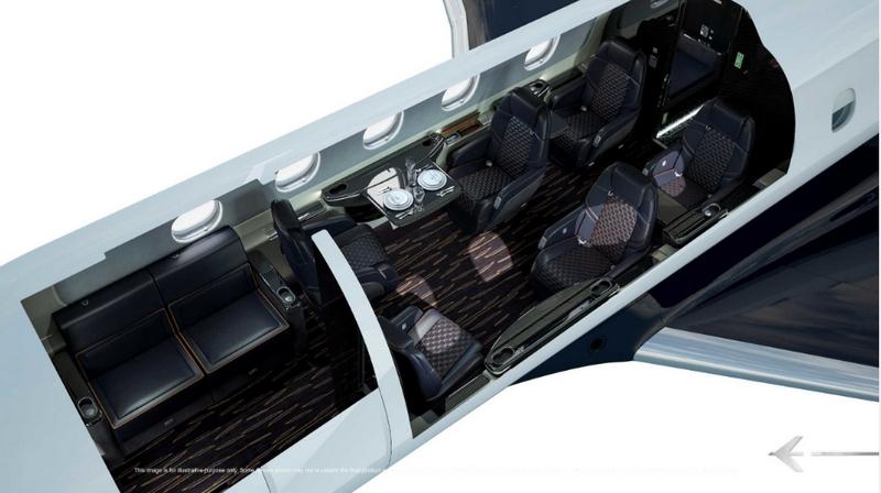 Praetor 600 Bossa Nova Edition Configuration