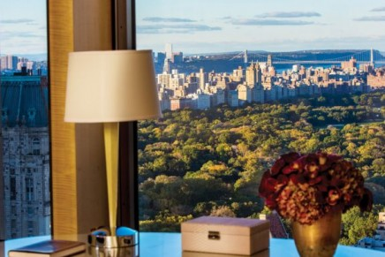 10 most expensive hotel suites in New York City. Survey
