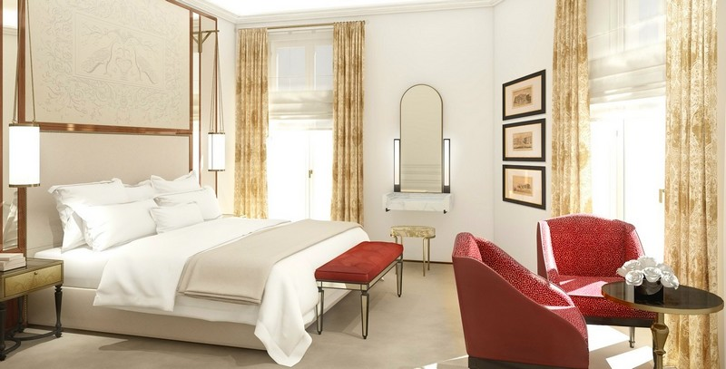 Presidential Suite Bedroom - Hotel Eden Rome 2017