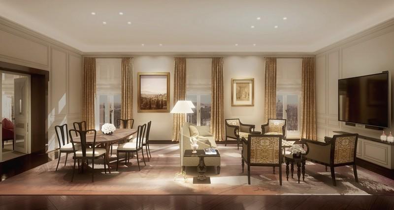 Presidential Suite Hotel Eden Rome 2017