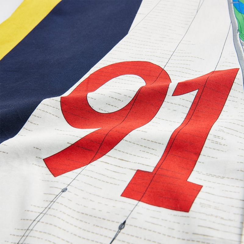 Primary colors primed for reinvention with regatta-inspired graphics from the Ralph Lauren archive