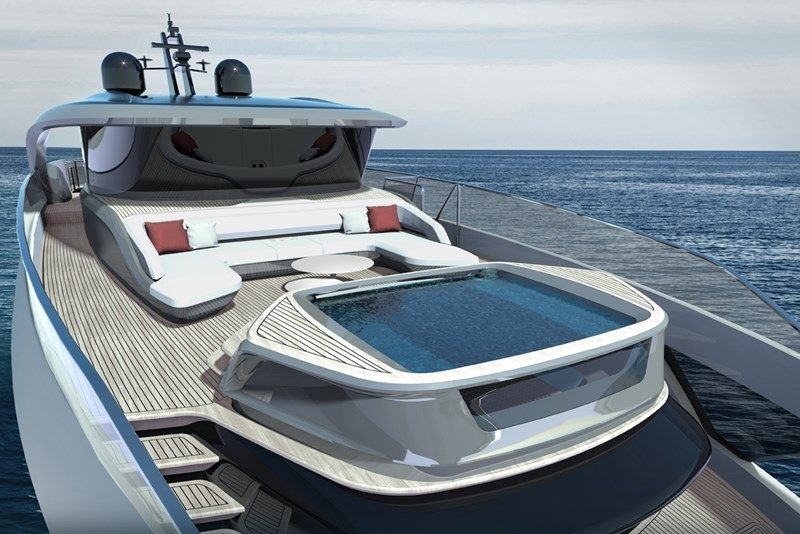 Princess Design Studio x Pininfarina x Olesinski present new X95 motor yacht-2018-04