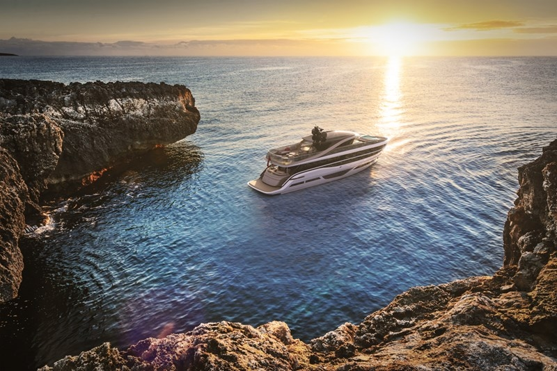 Princess Design Studio x Pininfarina x Olesinski present new X95 motor yacht-2018