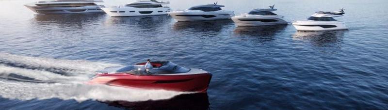 Princess Design Studio x Pininfarina x Olesinski present new X95 motor yacht