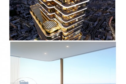 The first residential tower in London fully-designed by world-acclaimed Foster + Partners