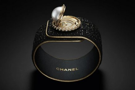 Chanel Mademoiselle Privé Bouton Perle secret watch pays homage to Coco's beloved ornamental button