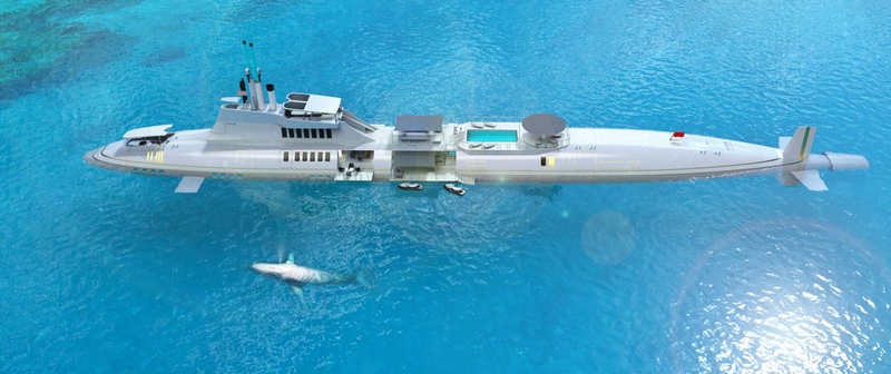 Private Submersibles Yacht - migalloo