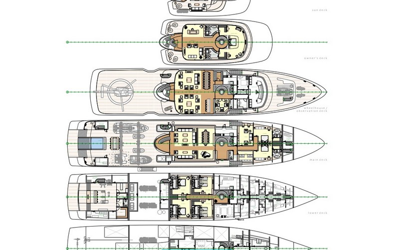 Project Crystal yacht technical