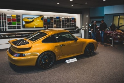 Project Gold by Porsche Classic found new home for EUR 2.7 Million