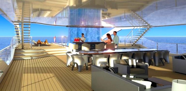Project Maximus Heesen revealed the concept for thir largest yacht to date-2018